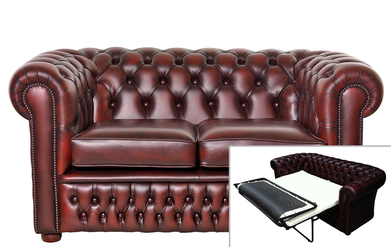 Stilvoll zu Bette: Das Chesterfield Schlafsofa